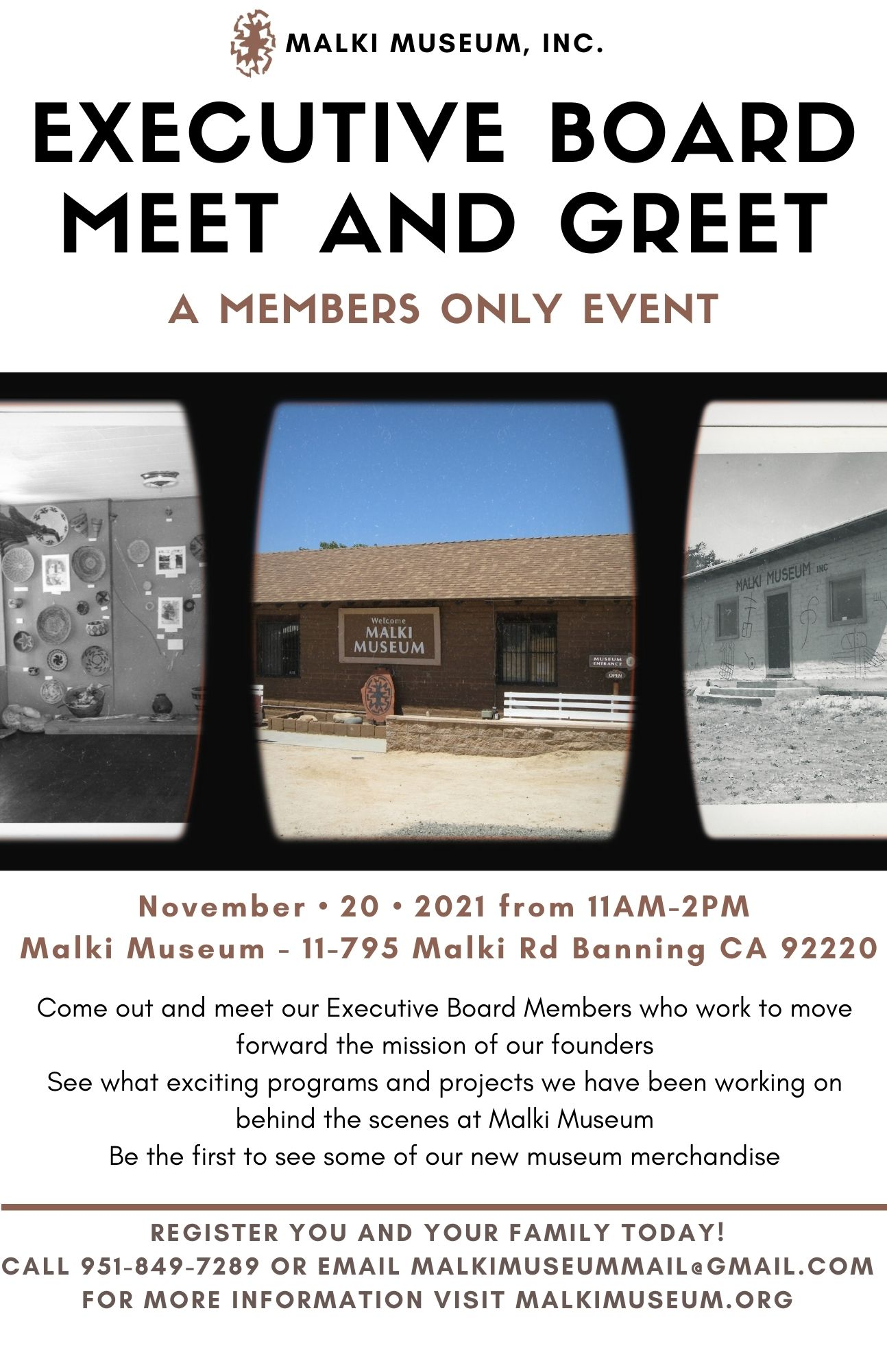 Members Only Event!
